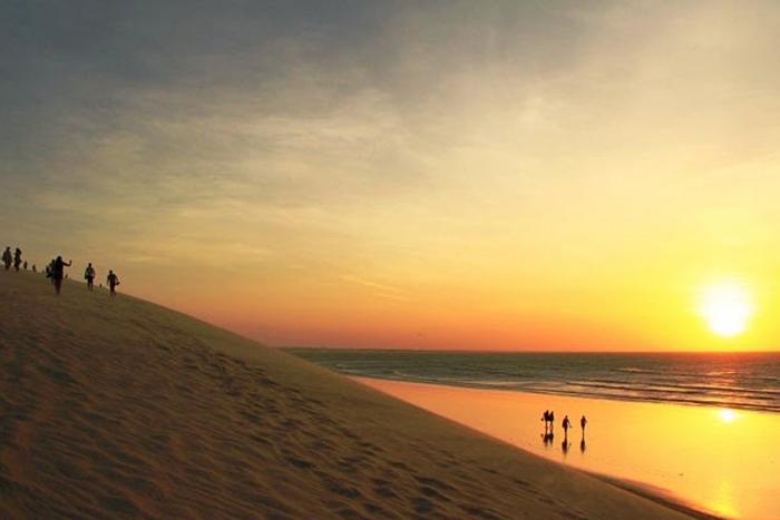 Resultado de imagem para jericoacoara duna por do sol