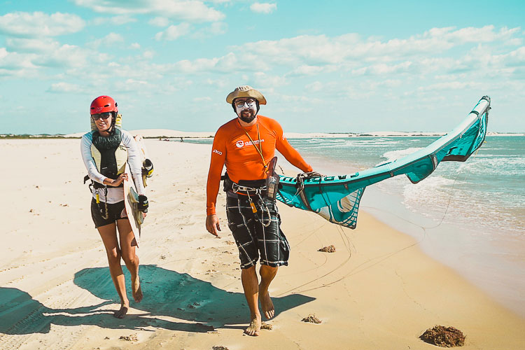 Watersports for everyone in Jericoacoara
